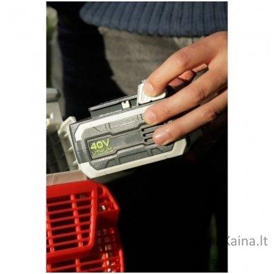 Akumuliatorinis lapų pūstuvas 40V 2.5 Ah Ikra Mogatec IAB 40-25 3