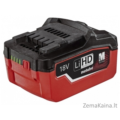 Akumuliatorius 18 V 5,5 Ah LiHD, Metabo 2