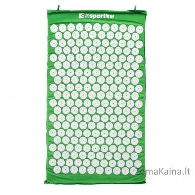 Akupresūros masažuoklis-aplikatorius (pagalvėlė + kilimėlis) inSPORTline Alavea Green 2