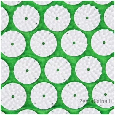Akupresūros masažuoklis-aplikatorius (pagalvėlė + kilimėlis) inSPORTline Alavea Green 3