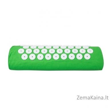 Akupresūros masažuoklis-aplikatorius (pagalvėlė + kilimėlis) inSPORTline Alavea Green 4