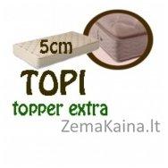 Antčiužinis TOPI topper extra 200*90*5