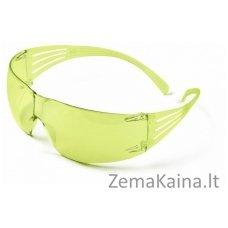 apsauginiai akiniai SecureFit 200 AS-AF, PC, geltoni, 3M