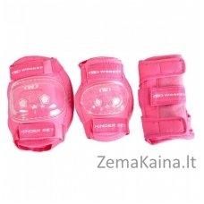 Apsaugų rinkinys WORKER Protectors Pink