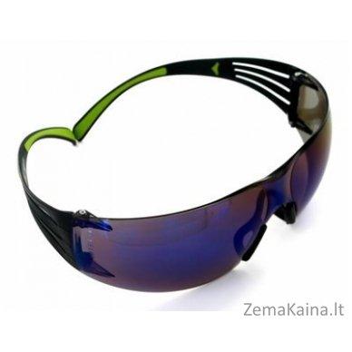 Apsauginiai  akiniai, mėlyni  AS ™ SecureFit 400 UU001467875, 3M