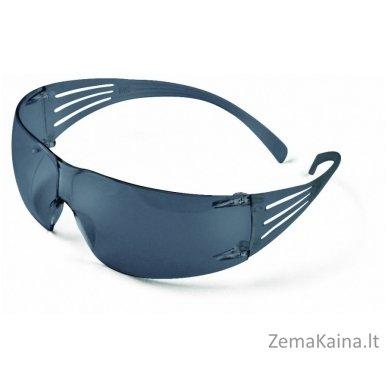 apsauginiai akiniai SecureFit 200 AS-AF, PC, pilki, 3M