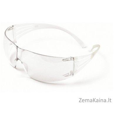 apsauginiai akiniai SecureFit 200 AS-AF, PC, skaidrūs, 3M