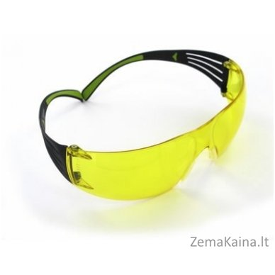 apsauginiai akiniai SecureFit 400 AS-AF, PC, geltoni UU001467867, 3M