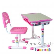 Augantis vaikiškas stalas FunDesk Piccolino  pink
