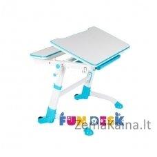 Augantis vaikiškas stalas transformeris FunDesk Volare Blue