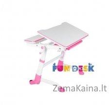 Augantis vaikiškas stalas transformeris FunDesk Volare Pink