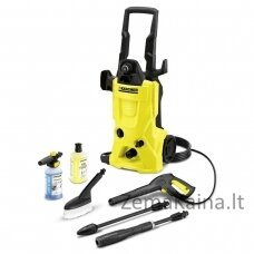 Aukšto slėgio plovykla Kärcher K 4 Alu 25  pressure washer Upright Electric Black,Yellow 420 l/h