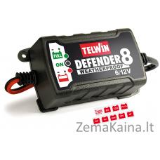 Akumuliatoriaus įkroviklis TELWIN DEFENDER 8 6V/12V