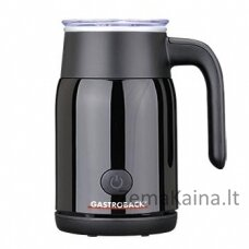 Automatinis putų plaktuvas Gastroback Latte Magic 42326 black