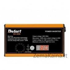 Automobilinis įtampos keitiklis Defort DCI-300D