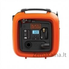 Automobilinis kompresorius Black & Decker ASI400