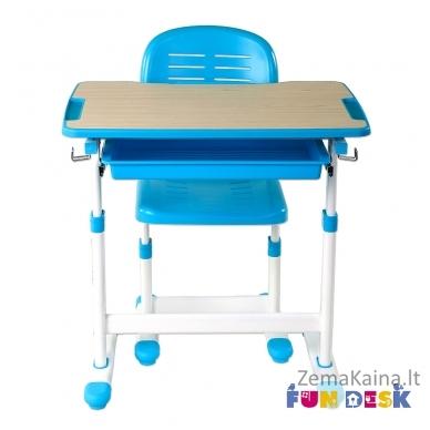 Augantis vaikiškas stalas FunDesk Piccolino blue 2