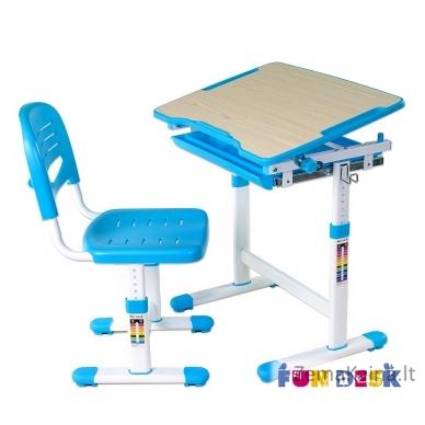 Augantis vaikiškas stalas FunDesk Piccolino blue 4