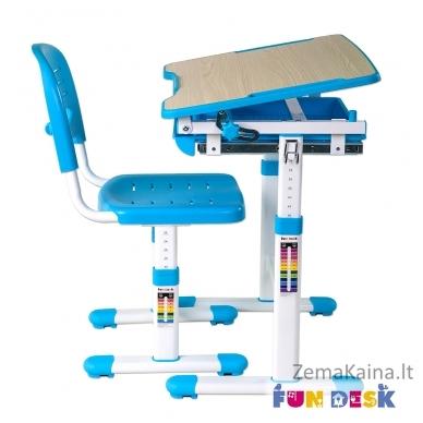 Augantis vaikiškas stalas FunDesk Piccolino blue