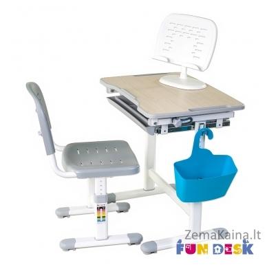 Augantis vaikiškas stalas FunDesk Piccolino grey 4