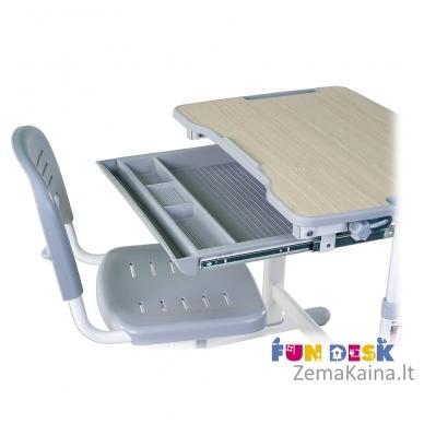 Augantis vaikiškas stalas FunDesk Piccolino grey 6