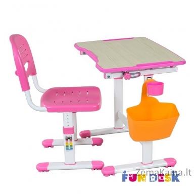 Augantis vaikiškas stalas FunDesk Piccolino II pink 2