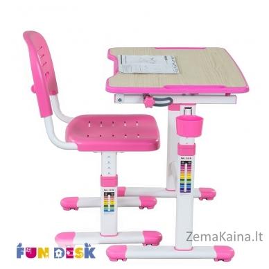 Augantis vaikiškas stalas FunDesk Piccolino II pink 3
