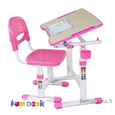 Augantis vaikiškas stalas FunDesk Piccolino II pink 4