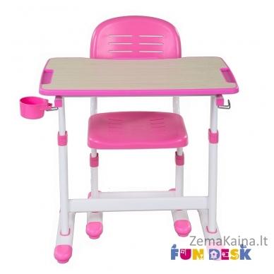 Augantis vaikiškas stalas FunDesk Piccolino II pink 5