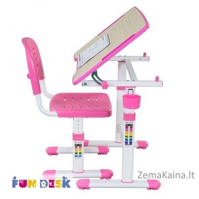 Augantis vaikiškas stalas FunDesk Piccolino II pink