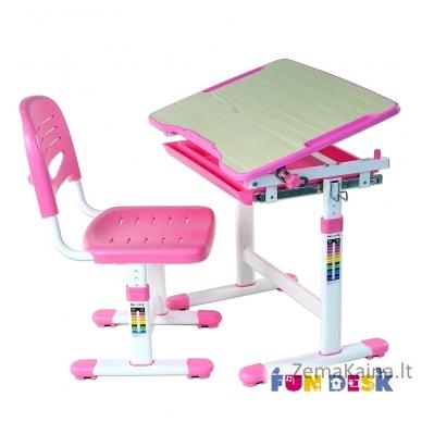 Augantis vaikiškas stalas FunDesk Piccolino  pink 2
