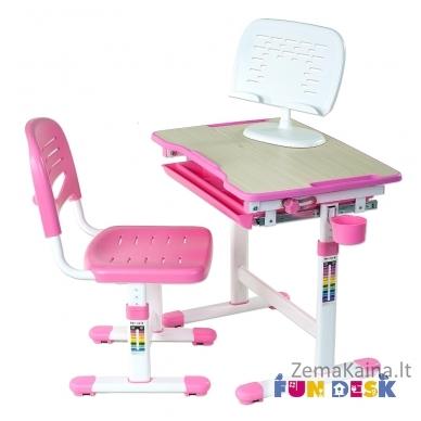 Augantis vaikiškas stalas FunDesk Piccolino  pink 6