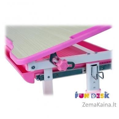 Augantis vaikiškas stalas FunDesk Piccolino  pink 5