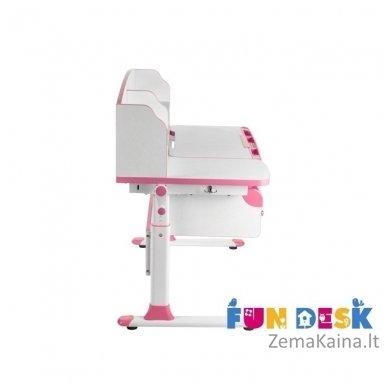 Augantis vaikiškas stalas FunDesk Sognare Pink 2