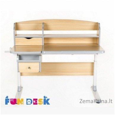 Augantis vaikiškas stalas FunDesk Sognare Grey 2