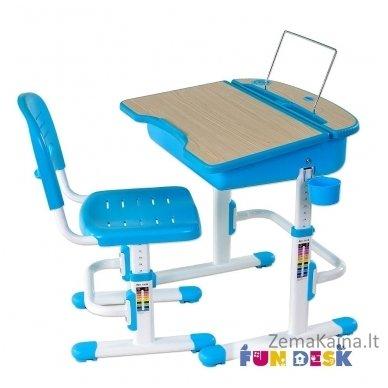 Augantis vaikiškas stalas ir kėdė FunDesk Capri Blue 4