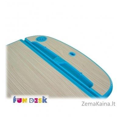 Augantis vaikiškas stalas ir kėdė FunDesk Capri Blue 3