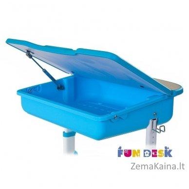 Augantis vaikiškas stalas ir kėdė FunDesk Capri Blue 2