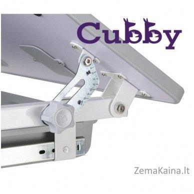 Augantis vaikiškas stalas ir kėdė FunDesk CUBBY KARO WG 6