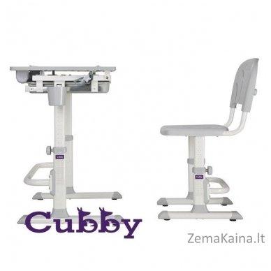 Augantis vaikiškas stalas ir kėdė FunDesk CUBBY KARO WG 5