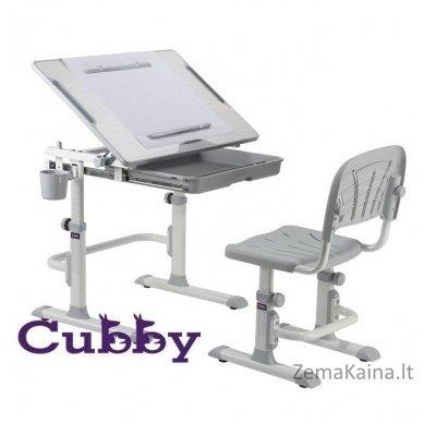 Augantis vaikiškas stalas ir kėdė FunDesk CUBBY KARO WG 3