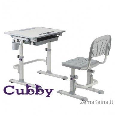 Augantis vaikiškas stalas ir kėdė FunDesk CUBBY KARO WG 2