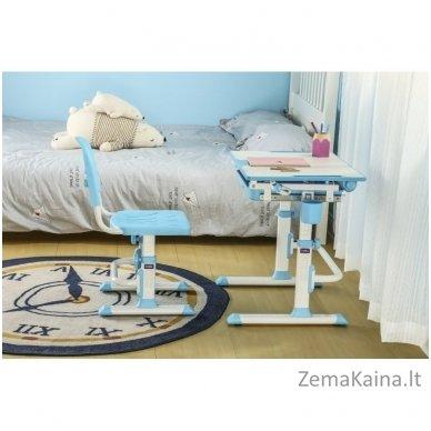 Augantis vaikiškas stalas ir kėdė FunDesk CUBBY KARO WP 10