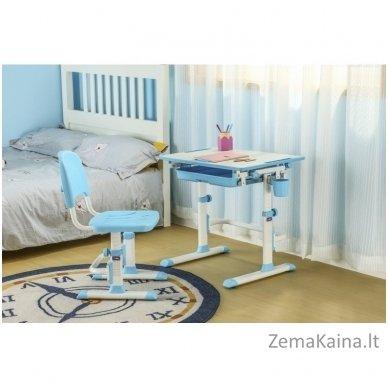 Augantis vaikiškas stalas ir kėdė FunDesk CUBBY KARO WP 9