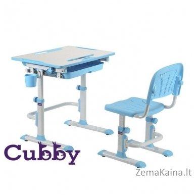 Augantis vaikiškas stalas ir kėdė FunDesk CUBBY KARO WP 5