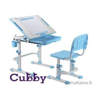 Augantis vaikiškas stalas ir kėdė FunDesk CUBBY KARO WP 2
