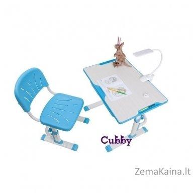Augantis vaikiškas stalas ir kėdė FunDesk CUBBY LUPIN VB 3
