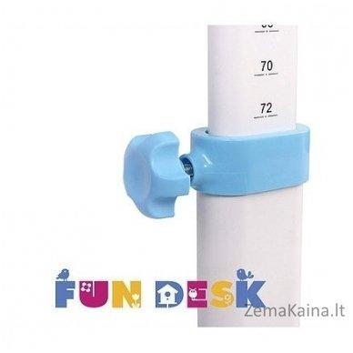 Augantis vaikiškas stalas transformeris FunDesk Lavoro L Blue 10