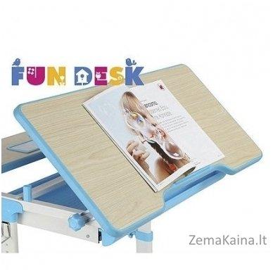 Augantis vaikiškas stalas transformeris FunDesk Lavoro L Blue 7