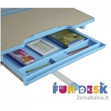 Augantis vaikiškas stalas transformeris FunDesk Lavoro L Blue 8